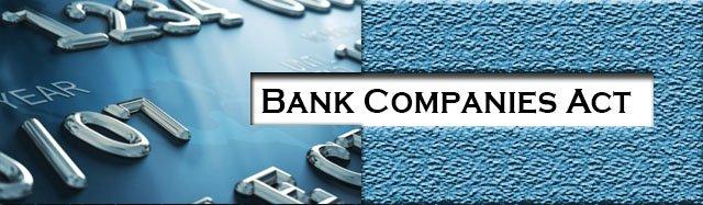 Bank Companies Act