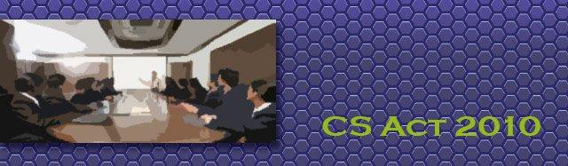 CS Act 2010