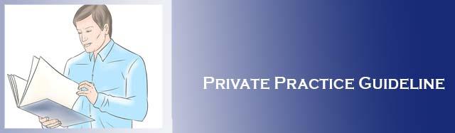 Private Practice Guideline