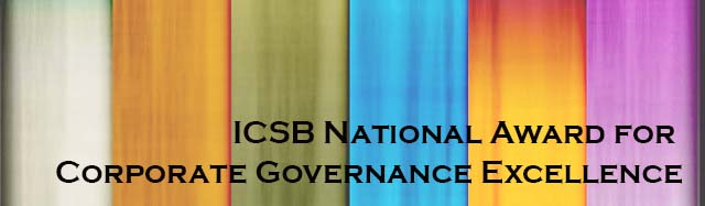 ICSB National Award for Corporate Governance Excellence