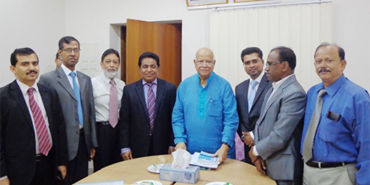 ICSB delegates met with Honorable Finance Misister Abul Maal Abdul Muhit