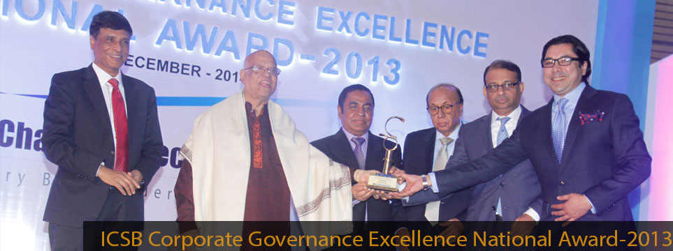 ICSB Corporate Governance Excellence National Award-2013