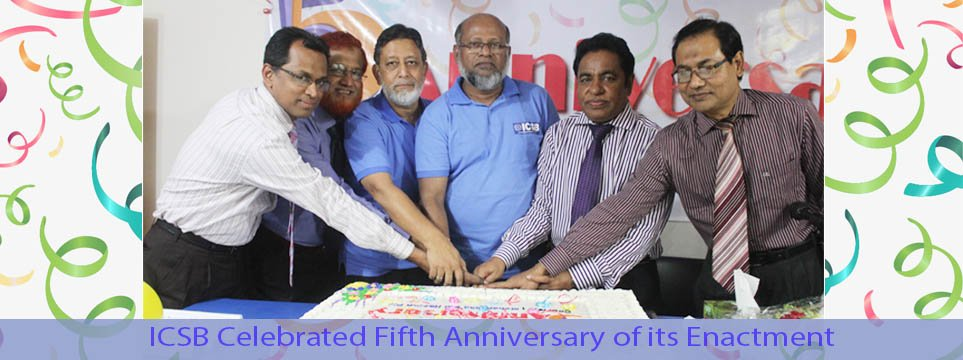 ICSB Celebrated Fifth Anniversary of its Enactment
