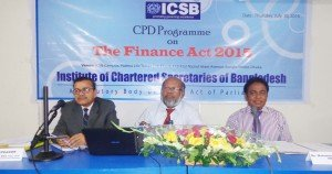 "ICSB CPD PROGRAM HELD ON ""THE FINANCE ACT 2015"""