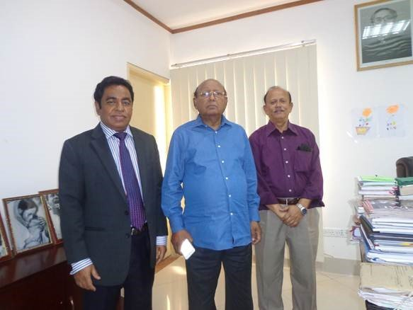 President of ICSB Mohammad Asad Ullah FCS met Tofail Ahmed MP, Hon'ble Commerce Minister