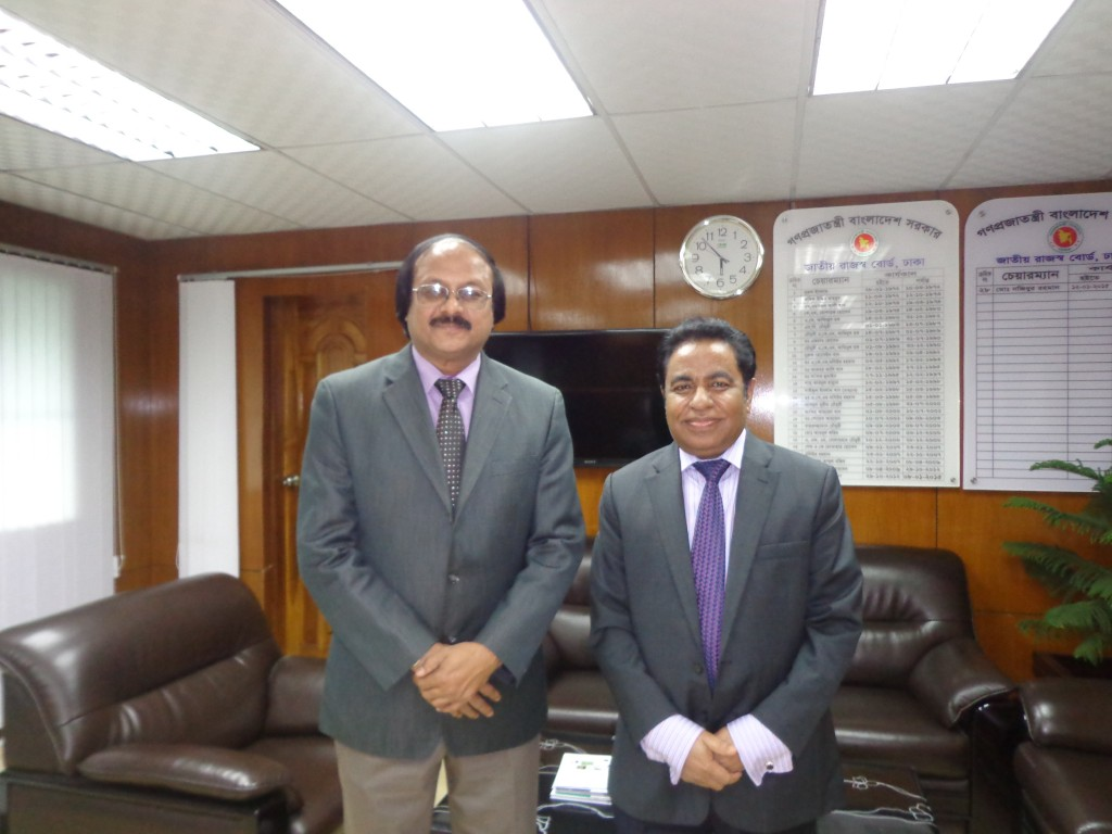 President, ICSB met with Chairman NBR