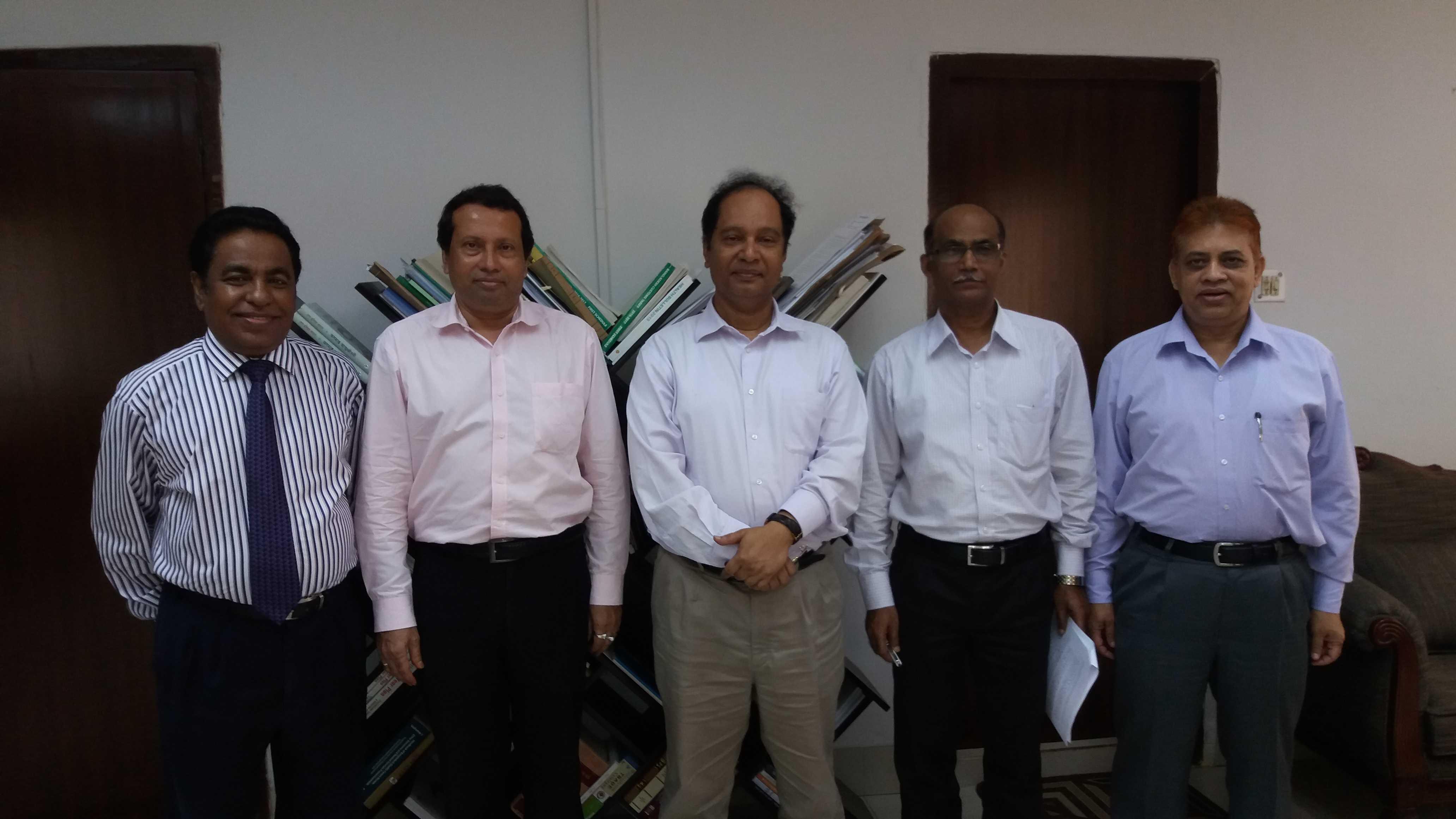 President of ICSB, Mohammad Asad Ullah FCS met Hon'ble Senior Secretary, Ministry of Commerce