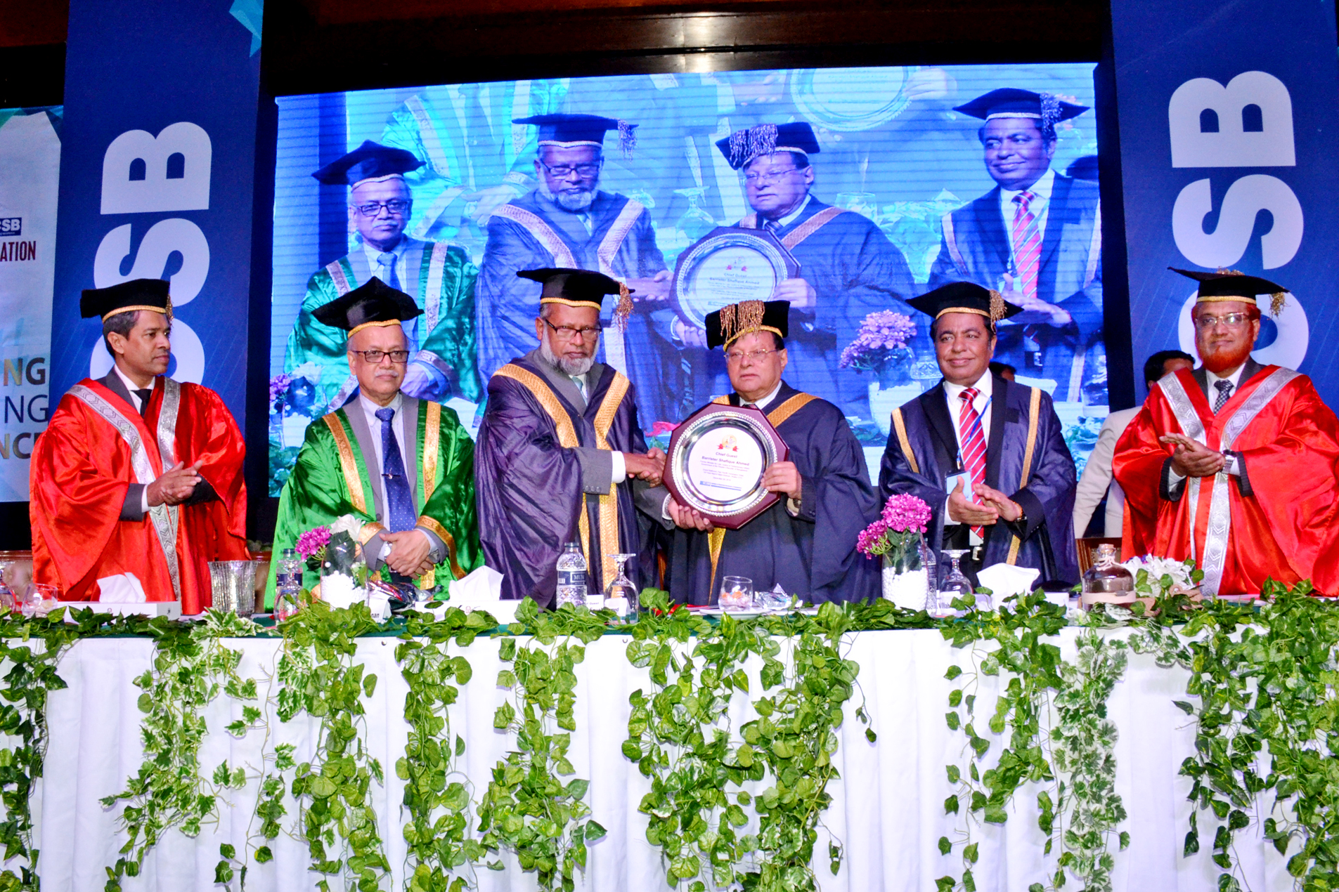 6th Convocation, 2016 of ICSB