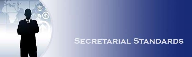 Secretarial Standards