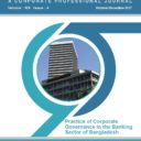 ICSB Journal- Practice of Corporate Governance in the Banking Sector of Bangladesh (Oct-Dec 2017)