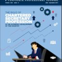 ICSB Journal- The Role of Chartered Secretary Profession (July-Sept. 2017)