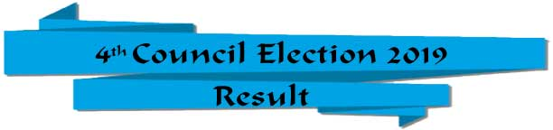 The Result Sheet for the 4th Election to the Council of the Institute of Chartered Secretaries of Bangladesh (ICSB)