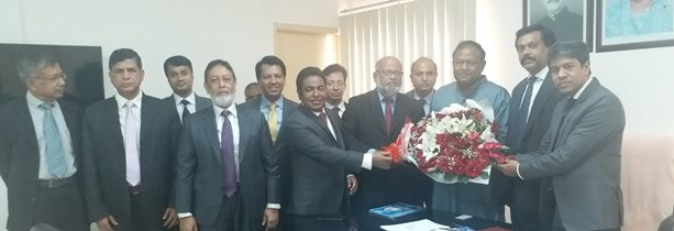 ICSB Council Meets with Honorable Commerce Minister, Mr. Tipu Munshi, MP
